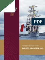 Buque Escuela Cuauhtemoc - Crucero de Instrucción Europa del Norte 2019