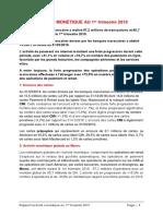 Cmi - Activite Monetique Marocaine Au 31 Mars 2019