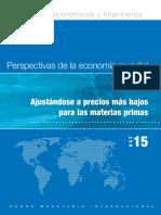 Informe Fondo Internacional Monetario Octubre 2015