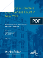 Achieving a Complete 2020 Census Count in New York