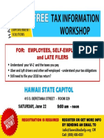 Workshop & Taxes
