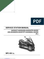 Piaggio MP3 400 User Manual