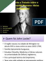 John Locke e Tratado Sobre o Entendimento Humano
