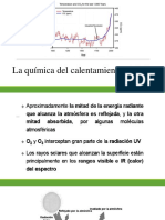 3. La Química Del Calentamiento Global