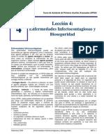 Enfermedades Infectocontagiosas y Bioseguridad - APAA