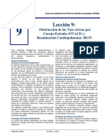 OVACE y RCP -APAA