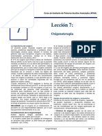 Oxigenoterapia - APAA