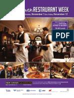 New Haven Restaurant Week Guide Nov. 2010