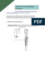 Instrumental  quirúgico básico otorrinolaringología