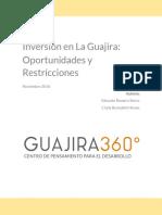 Inversion en La Guajira