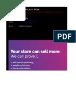 E-commerce Optimization Checklist (Template)