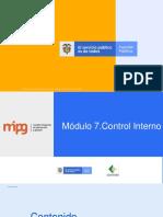 Presentacion Estructura Meci Control Interno