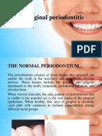 Chronic Marginal Periodontitis