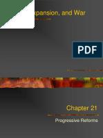 Progressive Era Chapter 21 Powerpoint