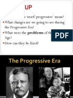Progressive Era Part. 1