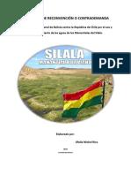 Propuesta de Demanda de Reconvencion Para La CIJ CASO SILALA