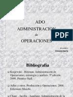 3.- Administraacion de Operaciones