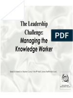 Presentation - The 4 Role of Leadership