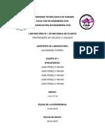 Estructura Del Informe