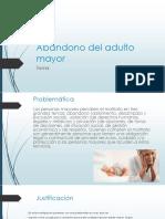 Abandono Del Adulto Mayor