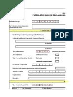 FURTRAN - Formulario Nico de Reclamacin de Gastos de Transporte y Movilizacin de Vctimas.