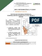 ALERTA-METEO - N°22 08-05-2019