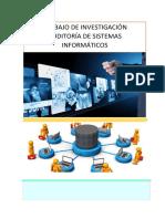 Técnicas Especiales de Auditoría de Sistemas Computacionales