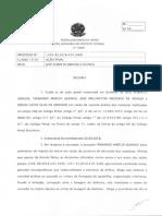 Decisão Panatenaico ação penal nº 1229-82