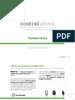 Cumple La Ley - Control Laboral