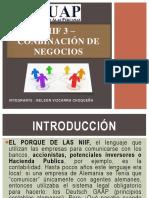 Niif 3 – Conbinación de Negocios