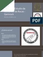 Presentación GEMROCK Final
