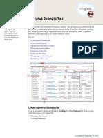 Salesforce Reports Enhanced Reports Tab Tipsheet