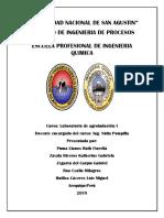 Informe Pan y Fideos