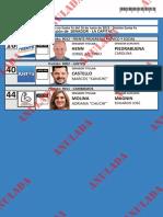Candidatos a Senador