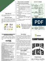 Folder Uso Do EPI