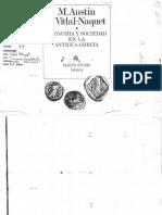 93 Vidal Naquet - Economia y Sociedad en La Antigua Grecia (168 Copias)