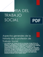 Historia Del Trabajo Social en La Universidad De