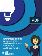 Entrevistas a Niños Víctimas de Abuso Sexual y Maltrato Familiar