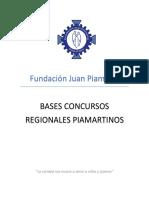 Bases Concursos Regionales Artes y Cantar Piamartinos Rev