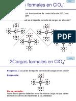 Cargas formalesClO4-