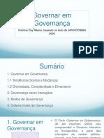 Governar em Governança