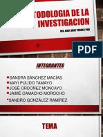 Power Poin Metodologia de La Investigacion# 3 Final