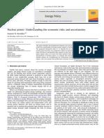 2009 07 WorldBank NuclearPowerEconomicRisksUncertainties
