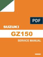 Manual de Servicio Suzuki Gz 150 (Ingles)