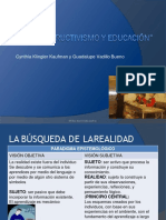 14781490 Constructivismo y Educacion Convertido