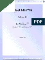 Manual MINITAB Referencias