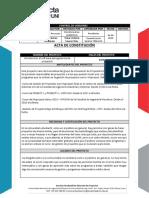 Acta de Constitucion ISGP 2019