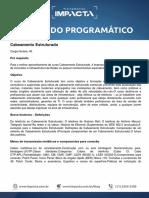 Conteúdo Programático - Cabeamento Estruturado