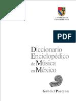 PAREYÓN, G. - Diccionario Enciclopédico de Música en México. Tomo I