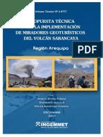 A6777-Propuesta Tecnica Miradores Geoturistico Volcan Sabancaya